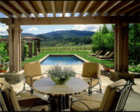 Highlight for Album: Napa Valley Farmhouse, completion 2006