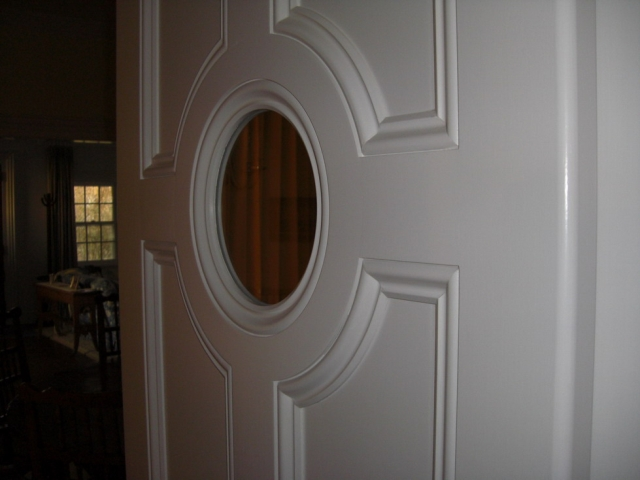 double hinged portal door