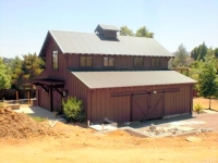 Highlight for Album: Healdsburg compound - in construction